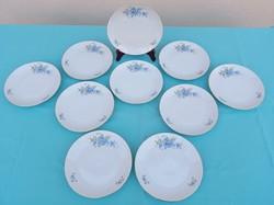 Forget pattern porcelain plate set 10 pcs