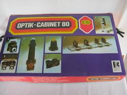 Optics cabinet 80 retro educational game