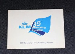 KLM 85 anniversary 2004 with three postcards inside