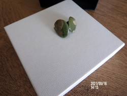 Semi-precious ear clip