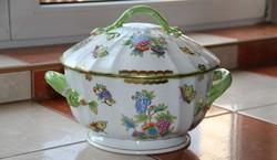 Herend Victoria 12-person dishwashing soup bowl vbo