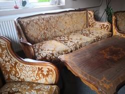 Sofa armchair, sofa table