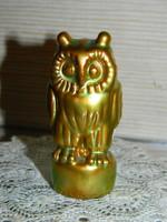 Zsolnay eosin glazed owl