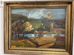 Price for sale sos. Wonderful cooper j. Nicholas oil painting collector's piece