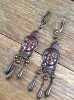 Older copper earrings