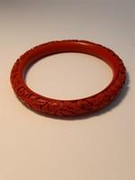 Cinnabar bracelet