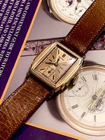 Gold swiss damage -deco bulova watch