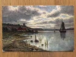 Antik képeslap - 1905