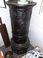 Antique casting stove