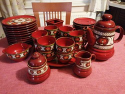 12-piece, 42-piece complete ceramic tea or coffee set in beautiful condition