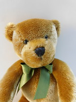 Vintage teddy bear in the harrods store