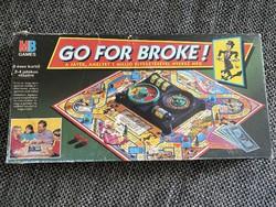 Go for broke! Go bankrupt! Board game
