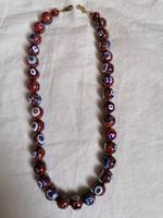 Beautiful millefiori necklace