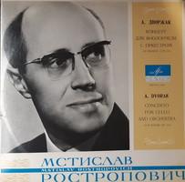 Rostropovich - dvorak cello concerto lp vinyl record vinyl