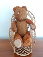 Old toy teddy bear vintage teddy bear