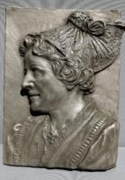 Ón falikép jelzett relief plaque handarbait. Alkudható!