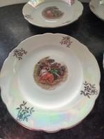 Chandelier glazed scene with cake plates