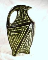 Spectacular retro ceramic floor vase from Pesthidegkút !!!