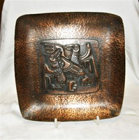 Reteo - kákonyi - bronze bowl wall decoration