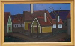 Joseph Ircsik: houses gallery painting