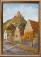 SÜMEGI VÁR - tájkép (16x22 cm)