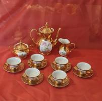 Kahla porcelain coffee set.