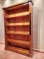 Egyedi biedermeier könyvszekrény
