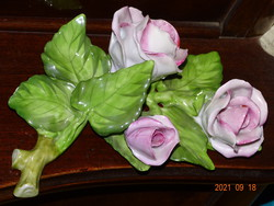 Bouquet of roses from Herend 3 roses