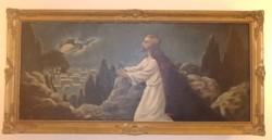 Jézus az Olajfák hegyén