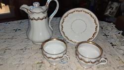 Extra díszes kávézós, teázós porcelán szett része- Nagyi hagyatékából