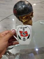 WW2. 2. Világháborús német porcelán bögre