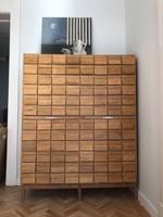 Kartoték szekrény, sokfiókos szekrény, fiókos szekrény
