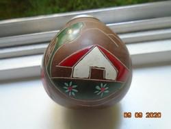 Kalabasa painted scratched ornament pumpkin mate tea for consumption argentina souvenir