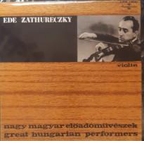 Zathureczky ede violin menahem pressler piano lp vinyl record vinyl