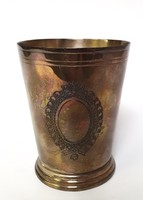 Metal cup, English form