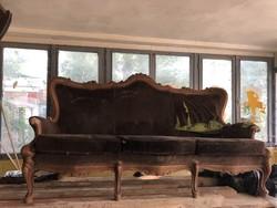 Neo-baroque sofa