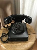 Hans widmaier munich 25 old black vinyl phone