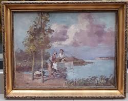 Cs. Farkas Lőrinc (1898-1966) : A pataknál