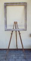 Régi festőállvány, festő állvány