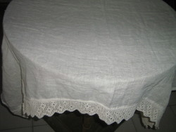 Vintage style crochet lacy stained glass curtain