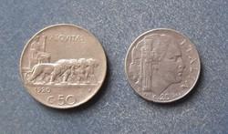 Olaszország - 20 centesimi 1920 (recés) - 1943