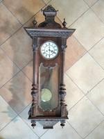 Old German pendulum wall clock - huge size