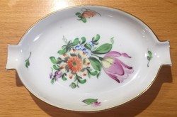 Antique Herend 1839 anniversary (125 years old) porcelain ashtray immaculate