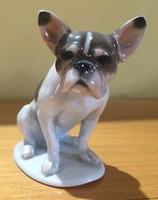 Antique rosenthal dog 10 * 8 * 5 cm flawless condition. A rare specialty.