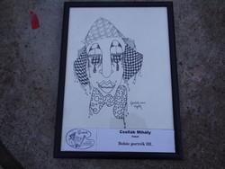Michael Csollák: clown portraits iii. - Ajaki Fine Arts Creative Camp