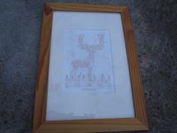 Wonder deer - ink drawing