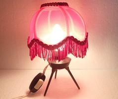 Régi vas lámpa asztali lámpa ernyő búra lámpaernyő lámpabúra - működik