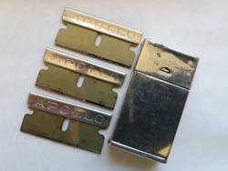 Vintage trade gillette mark razor blade holder