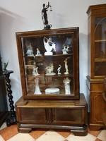 Antique art deco display case