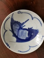 Antique fish oriental plate